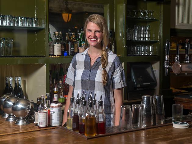 Laura Lashley, Head bartender, the Breslin