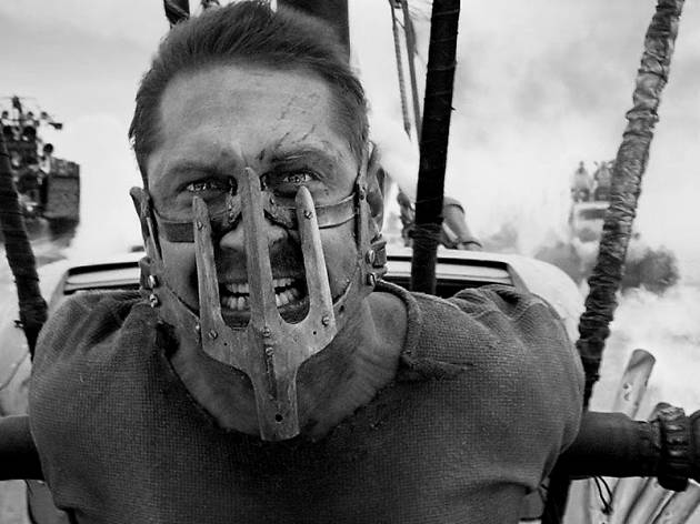 Mad Max: Fury Road. Black & Chrome