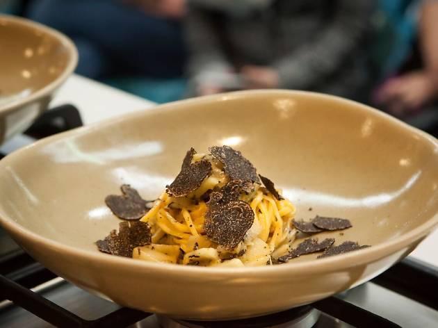 Grossi truffle pasta