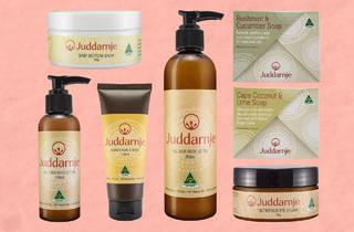 Juddarnje Skincare products