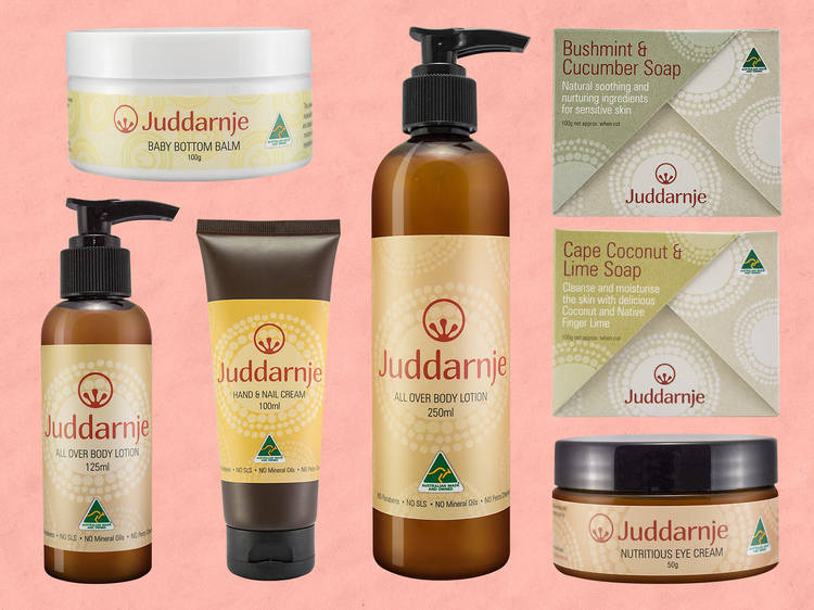 Beauty products by Indigenous businesses