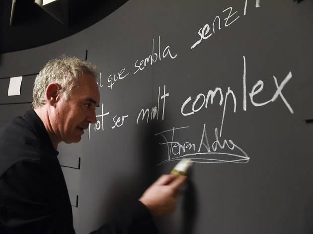 Et convidem a una visita guiada al BulliLab amb el xef Ferran Adrià