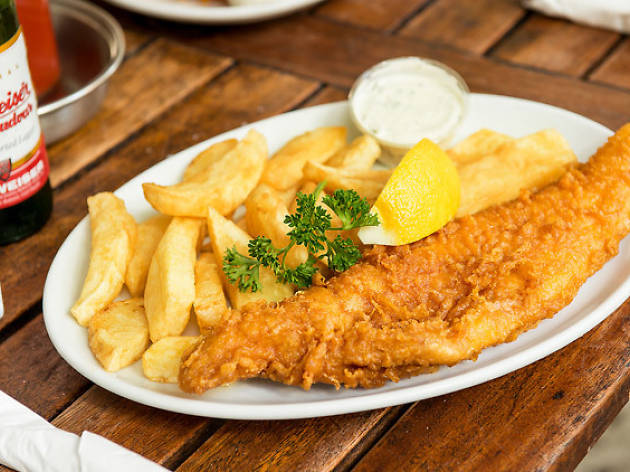 London s oldest fish n chip shop is dishing up chips for for Rock n fish restaurant