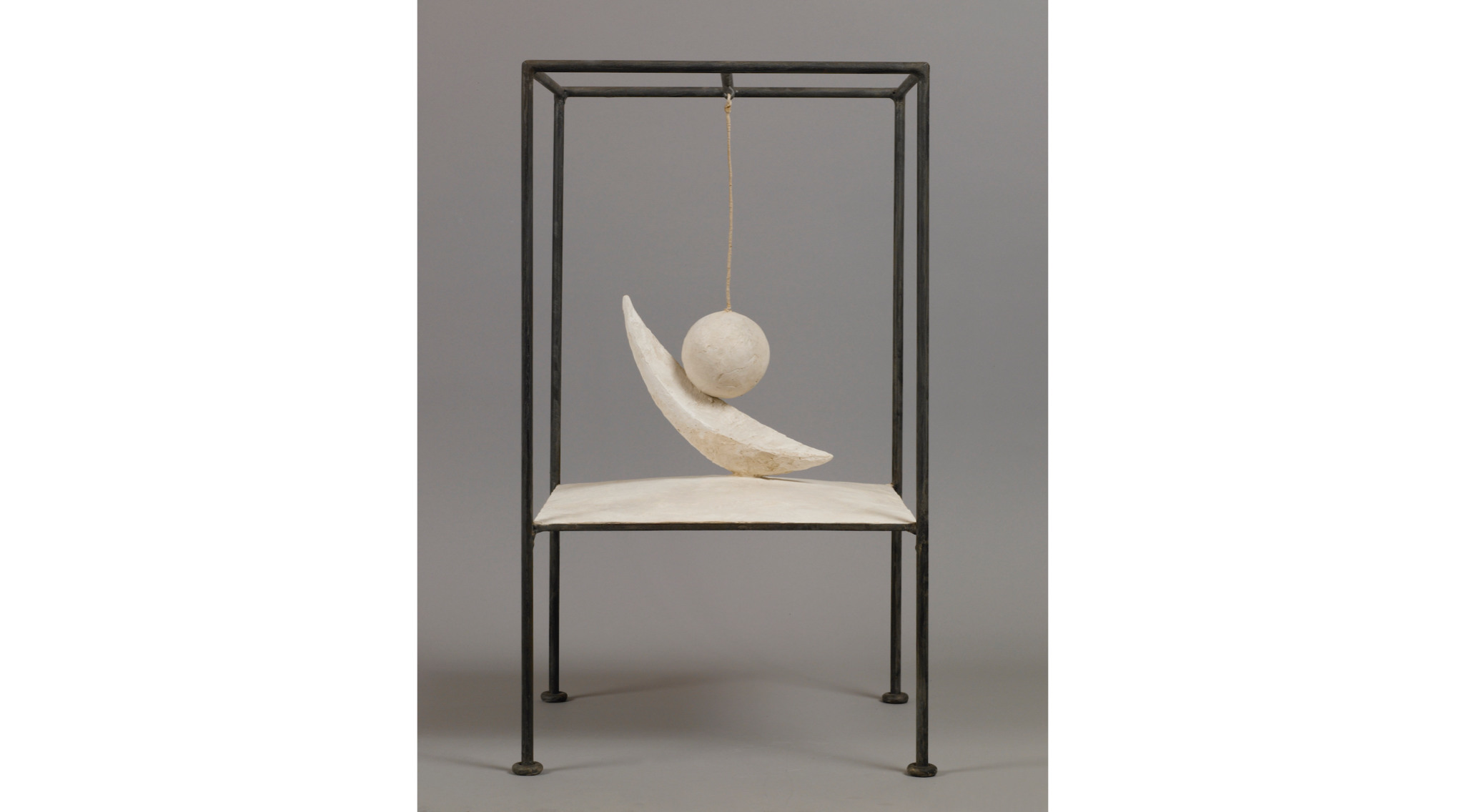 'Suspended Ball', 1930-1931 by Alberto Giacometti