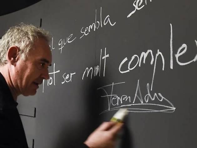 Te invitamos a una visita guiada al BulliLab con el chef Ferran Adrià