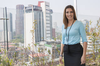 Mónica Laris, comentarista de XFL