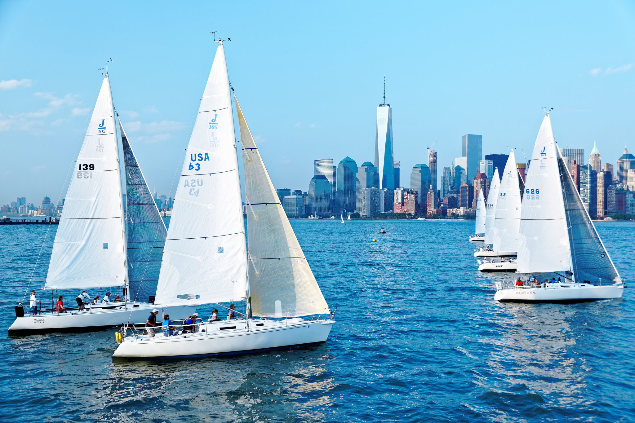 Sailing on the Hudson River