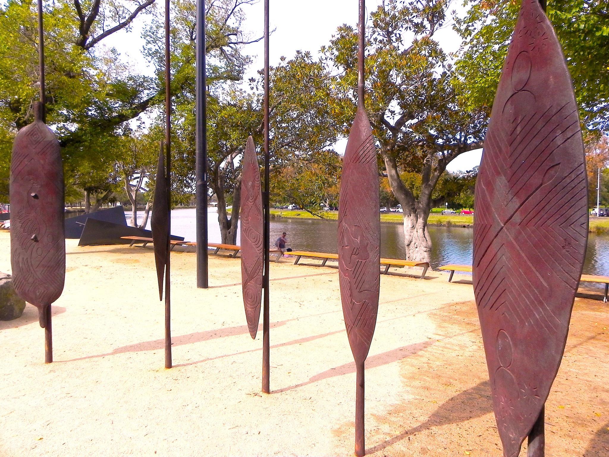 Koorie Heritage Trust Cultural Walk Birrarung Marr