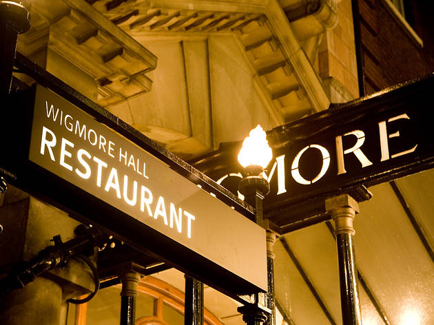 (Wigmore Hall Restaurant offer pre-concert dining © Benjamin Ealovega )