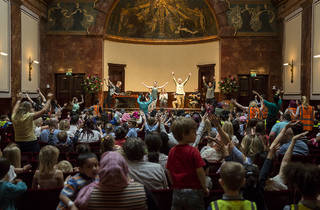 (Chamber Tots Jamboree for schools at Wigmore Hall © Benjamin Ealovega)