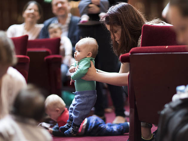 (For Crying Out Loud! Relaxed concerts for parents and babies © Benjamin Ealovega)