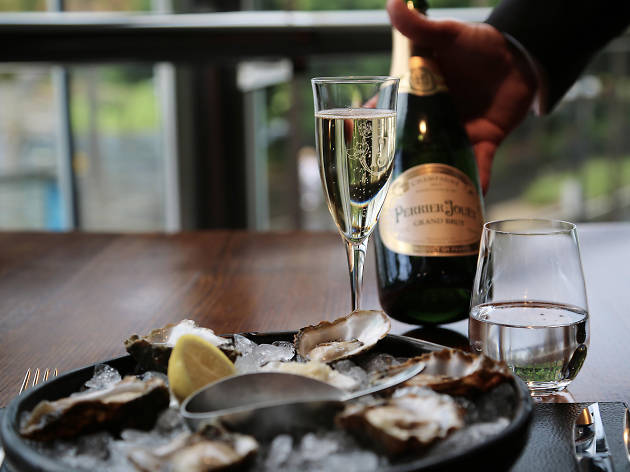 Oysters and Champagne The Star