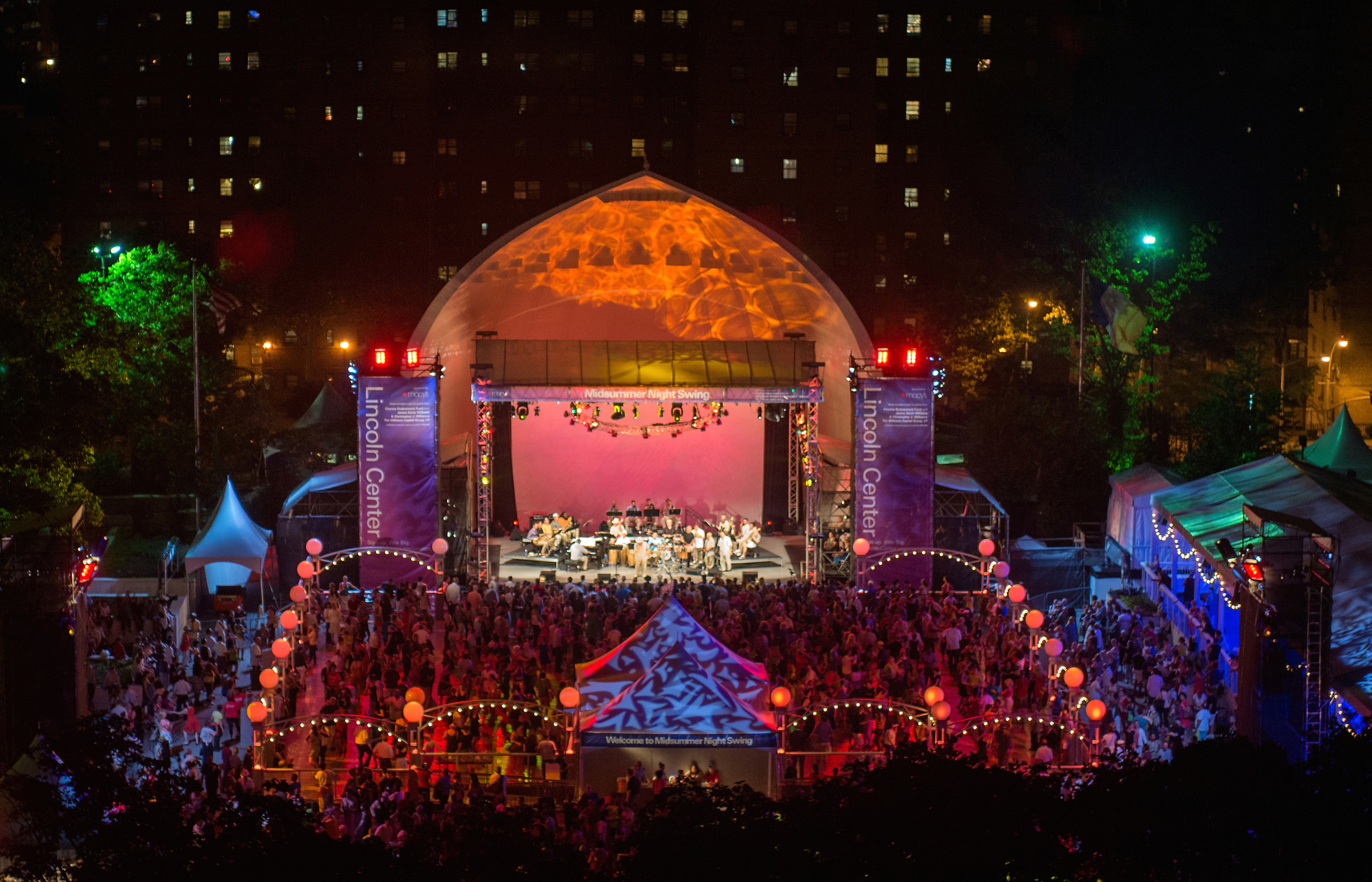 Tickets for Midsummer Night Swing at Lincoln Center are available today!