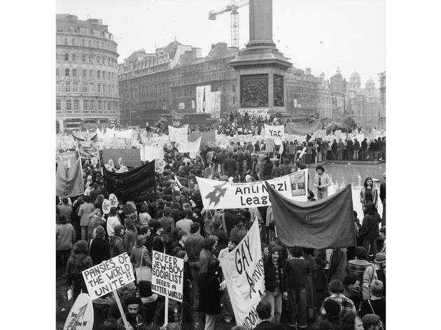 Anti-Nazi rally in Trafalgar Square: 1978