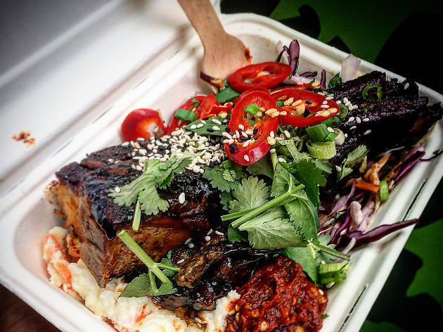 london's best street food, smokin lotus