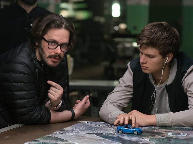 Director Edgar Wright and star Ansel Elgort on the summer's fastest car-chase