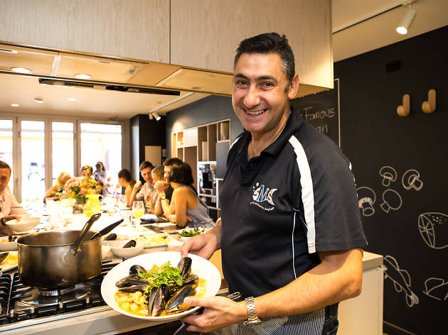 South Melbourne Market Kitchen cooking class
