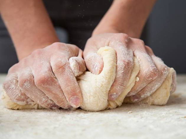 CAE bread dough kneading