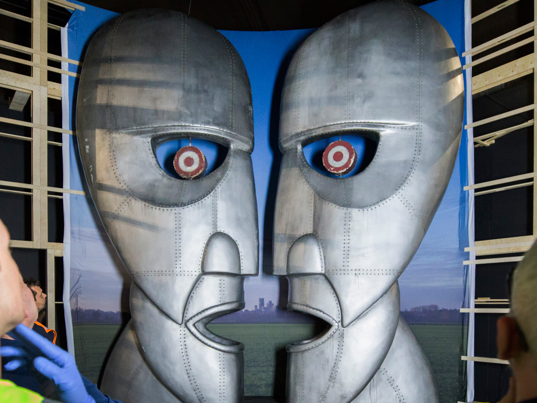 Five Rock Relics At The Pink Floyd Exhibition Their Mortal