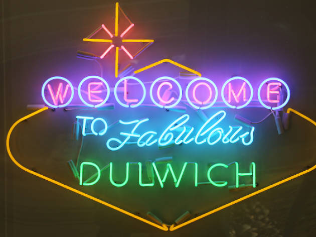 Welcome to Fabulous Dulwich sign