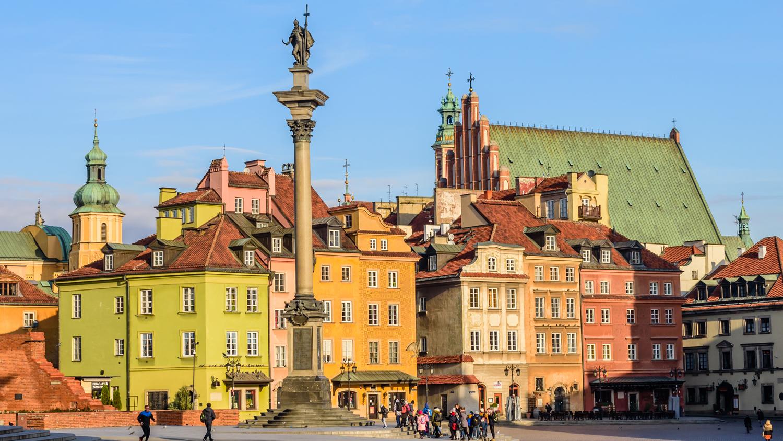 Best Euro city breaks - Warsaw - 2017