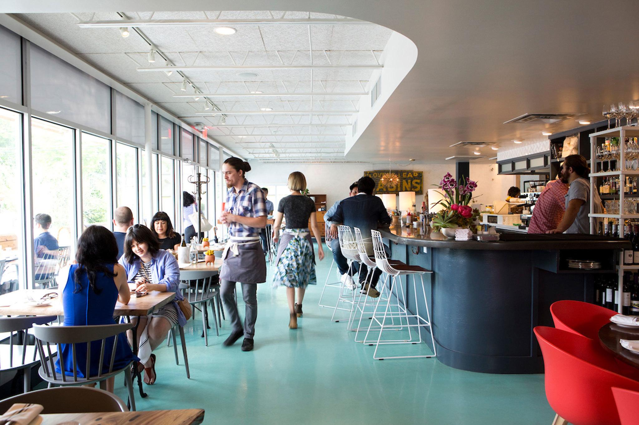 Launderette's Rene Ortiz dishes on ugly restaurants and heartburn