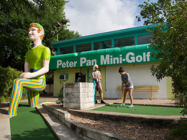 Peter Pan Mini Golf
