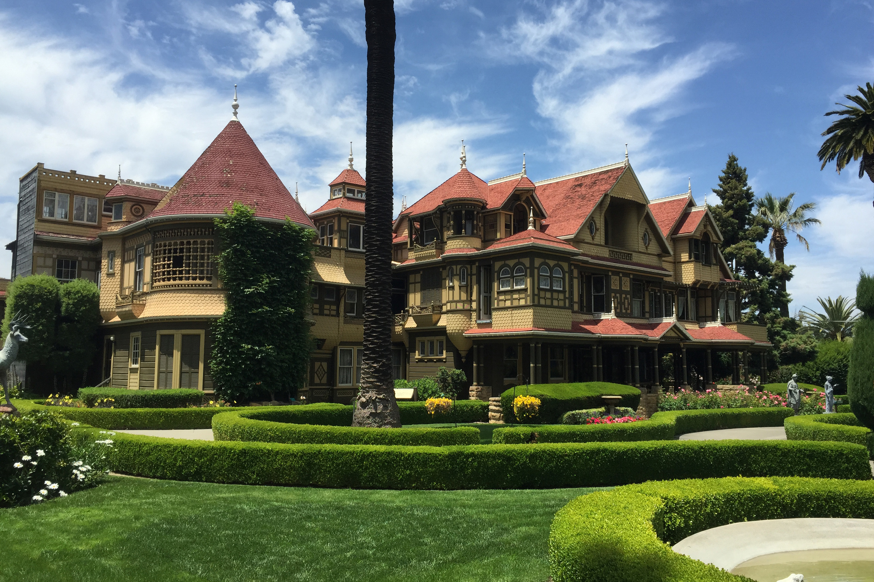 Helen Mirren is filming in San Joses Winchester Mystery House