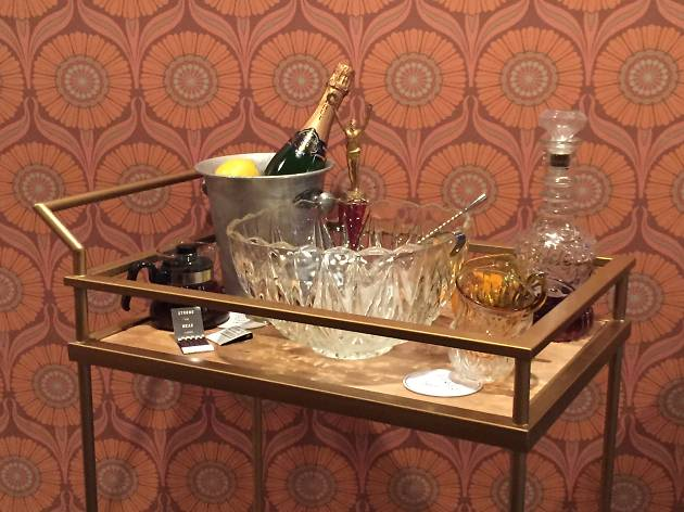 Tableside Champagne Punch Service at Punch House