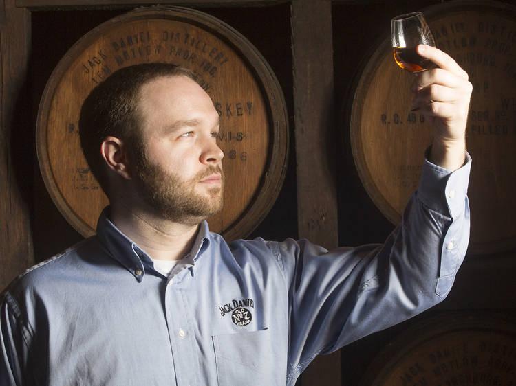 Go on a tour of the Jack Daniel's Distillery