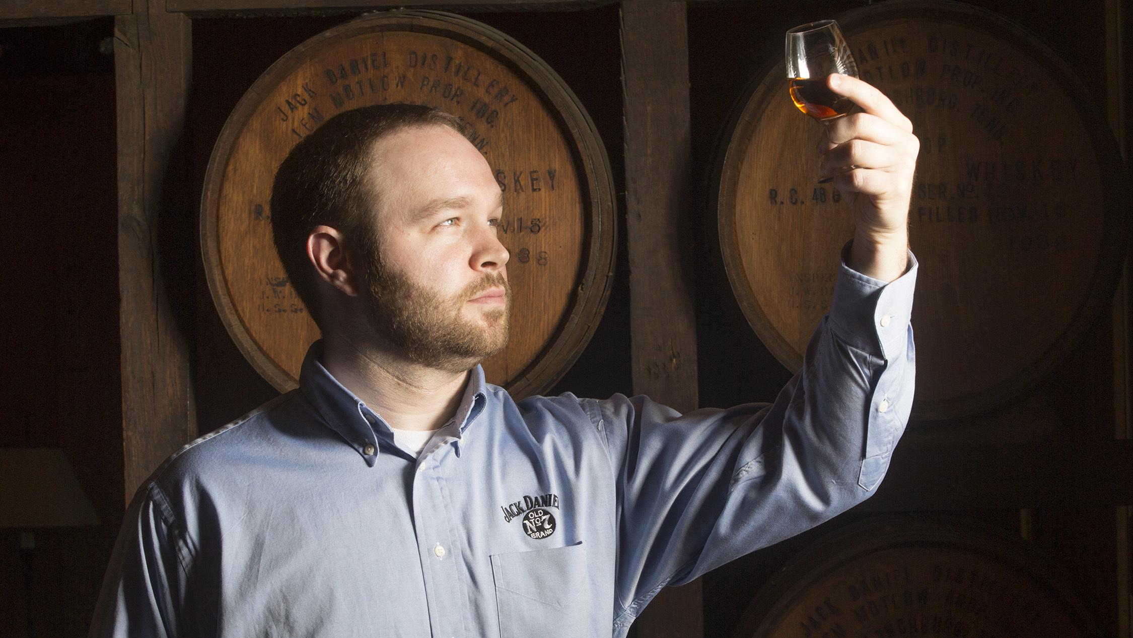 Lynchburg Tennessee Jack Daniel's Chris Fletcher taste test