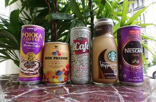 Canned coffee, mocha