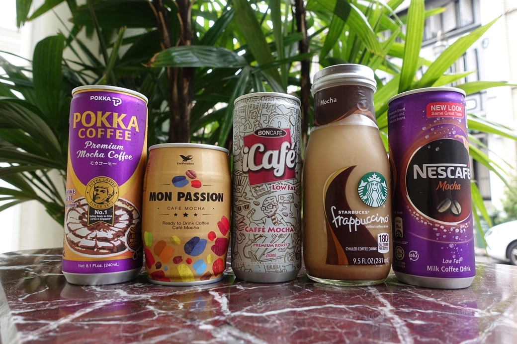 Taste test: canned coffee (mocha)