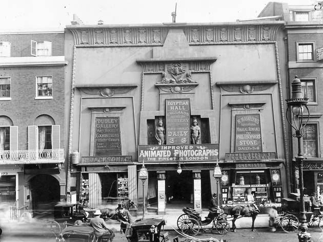 Lost London: Egyptian Hall