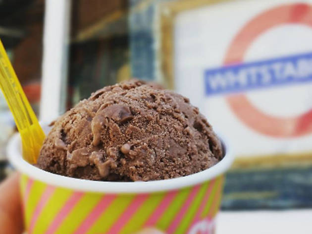 Retro ice cream parlours near London