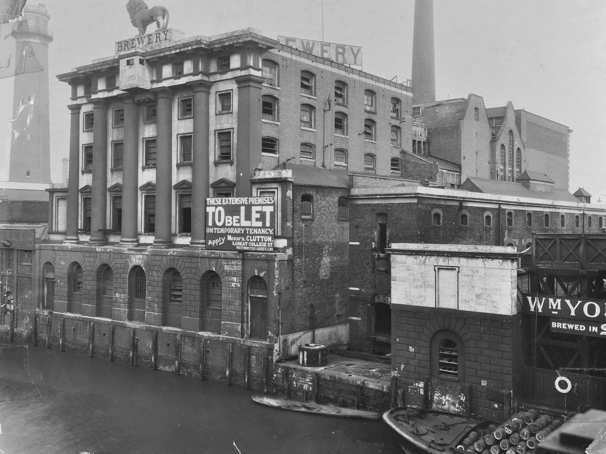 Lost London: The Lion Brewery