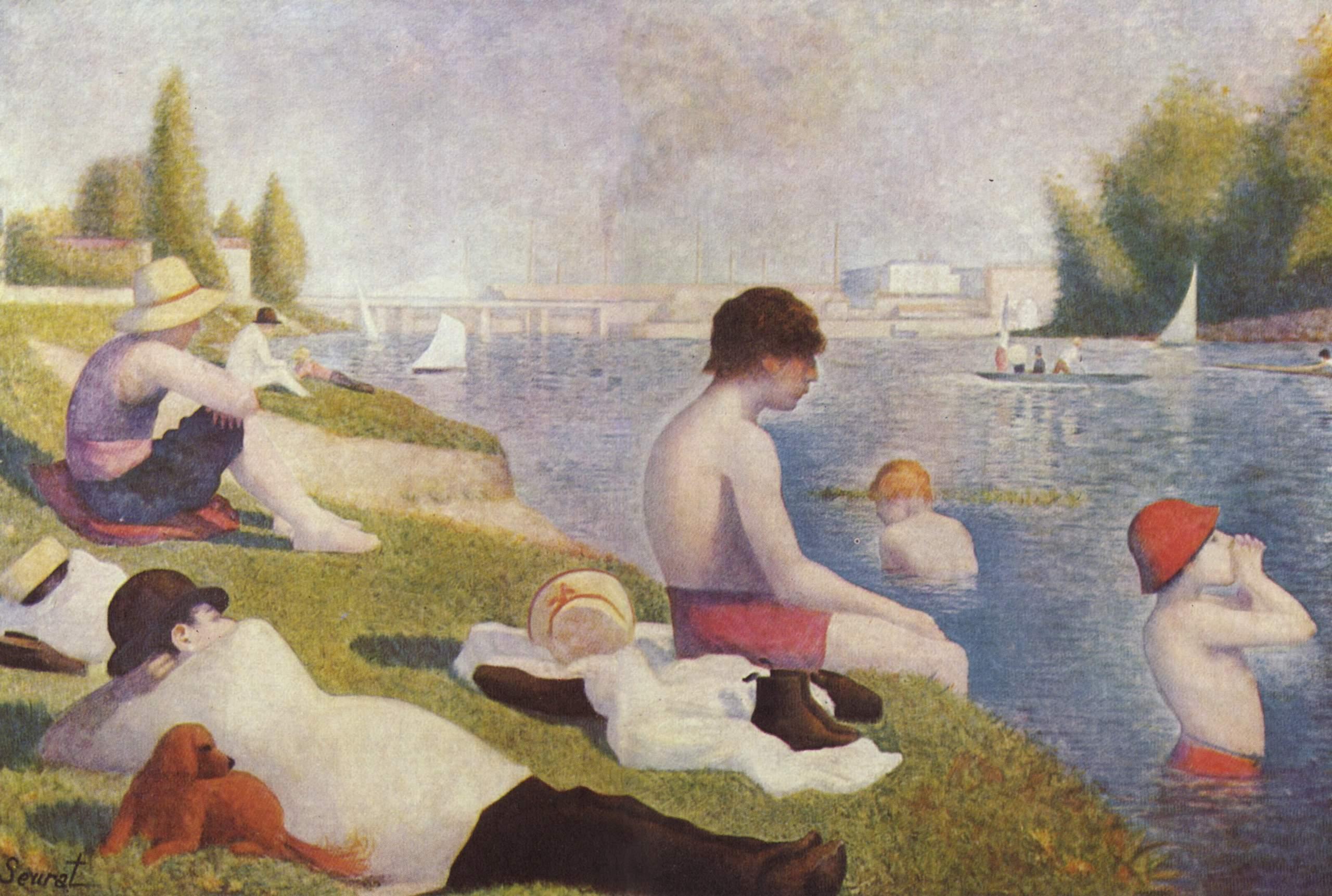 Bathers in Asnières