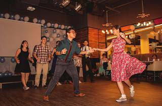 Lindy hop workshop with Oat & Young Ji