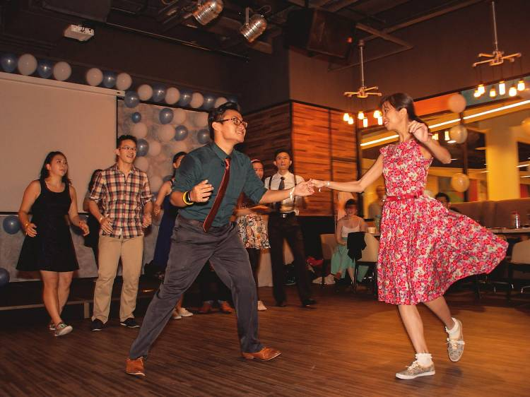 20. Learn to Lindy Hop