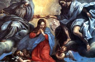 Coroação da Virgem Maria - Catedral Basílica do São Salvador da Bahia