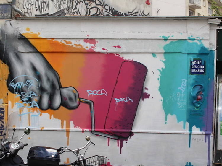 The best street art in Paris