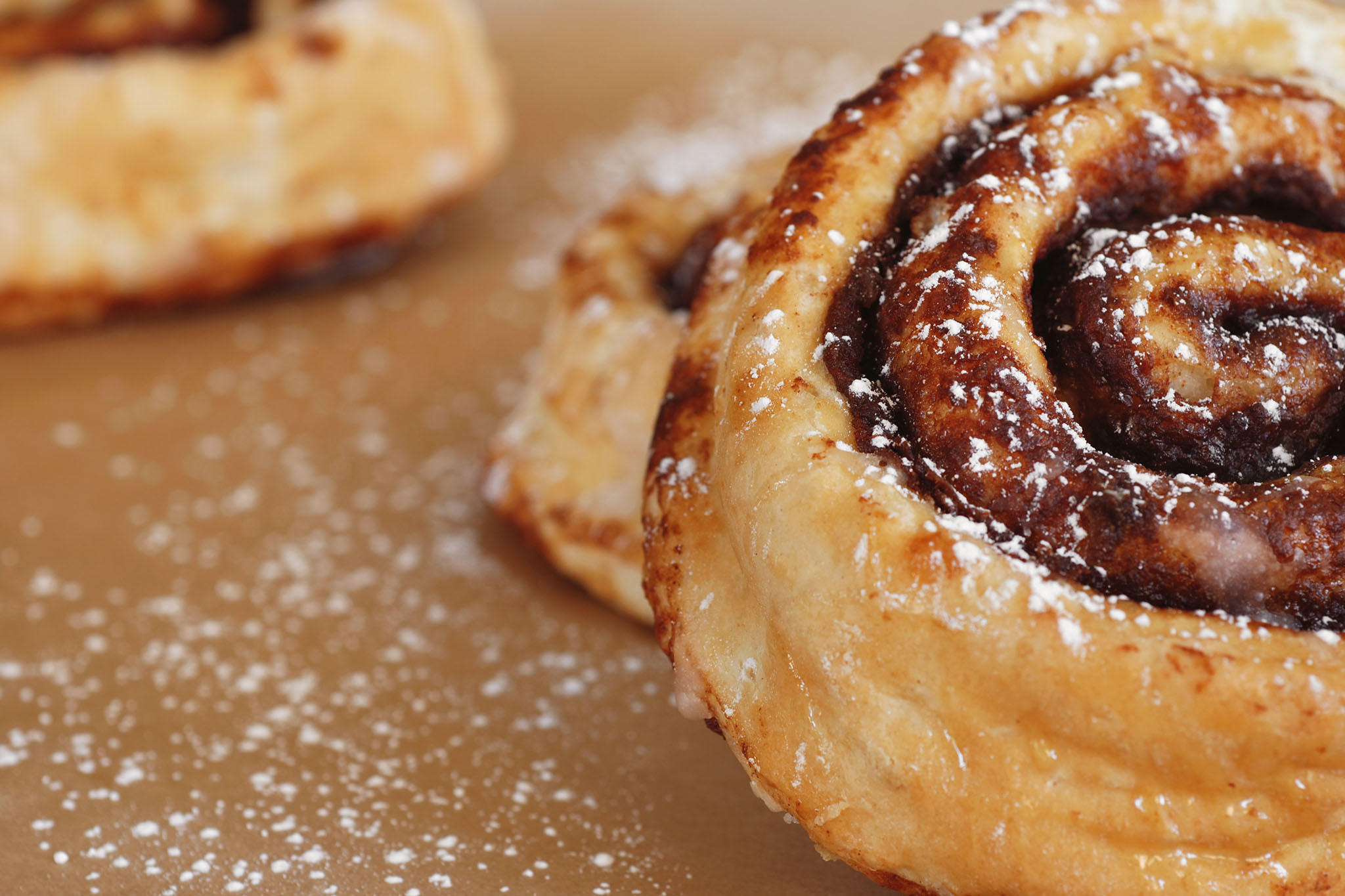 Savor the cinnamon rolls at Knaus Berry Farm
