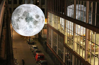 Luke Jerram's 'Museum of the Moon' at Greenwich and Docklands International Festival