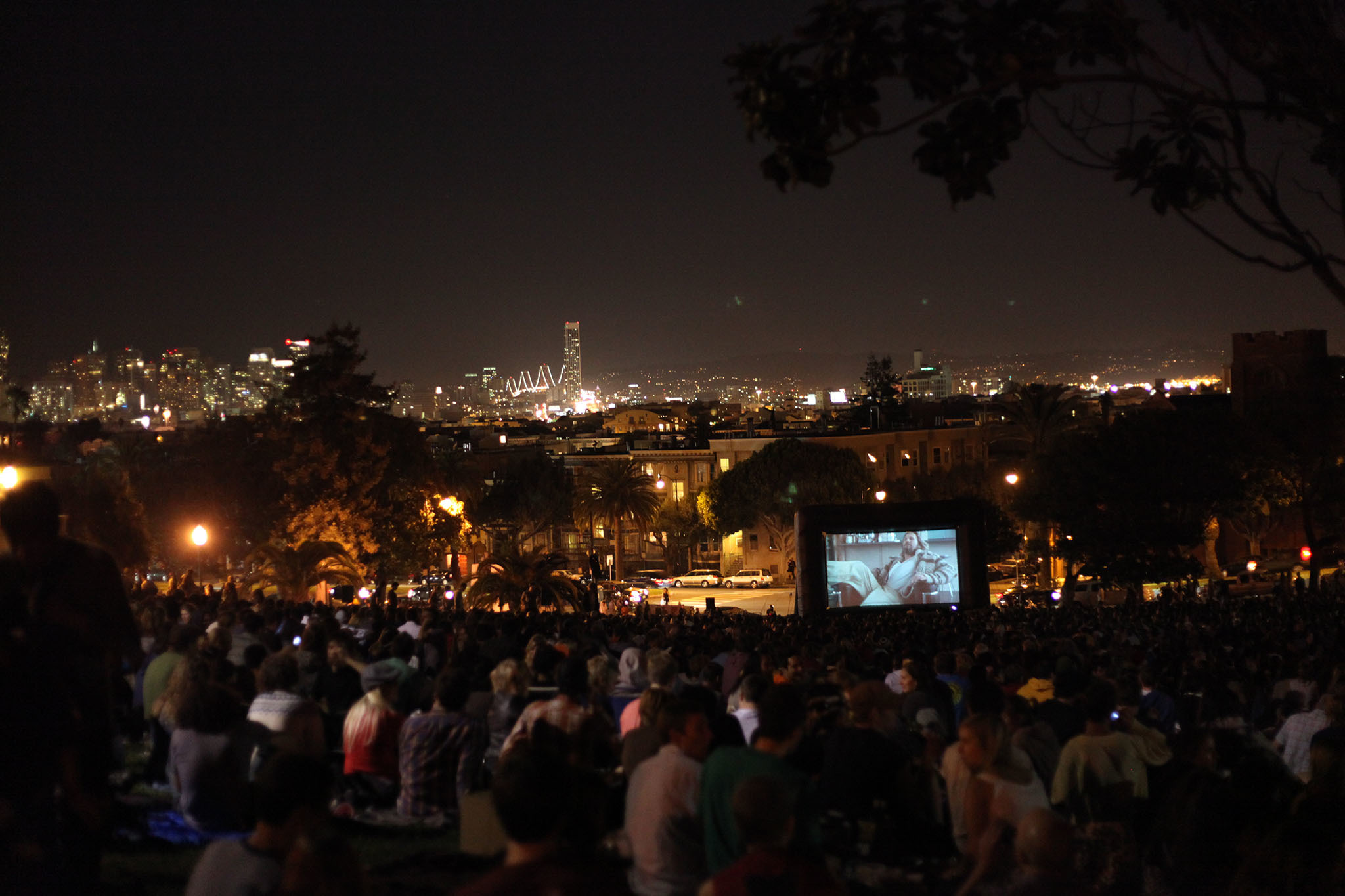 The best outdoor movies in the Bay Area this summer