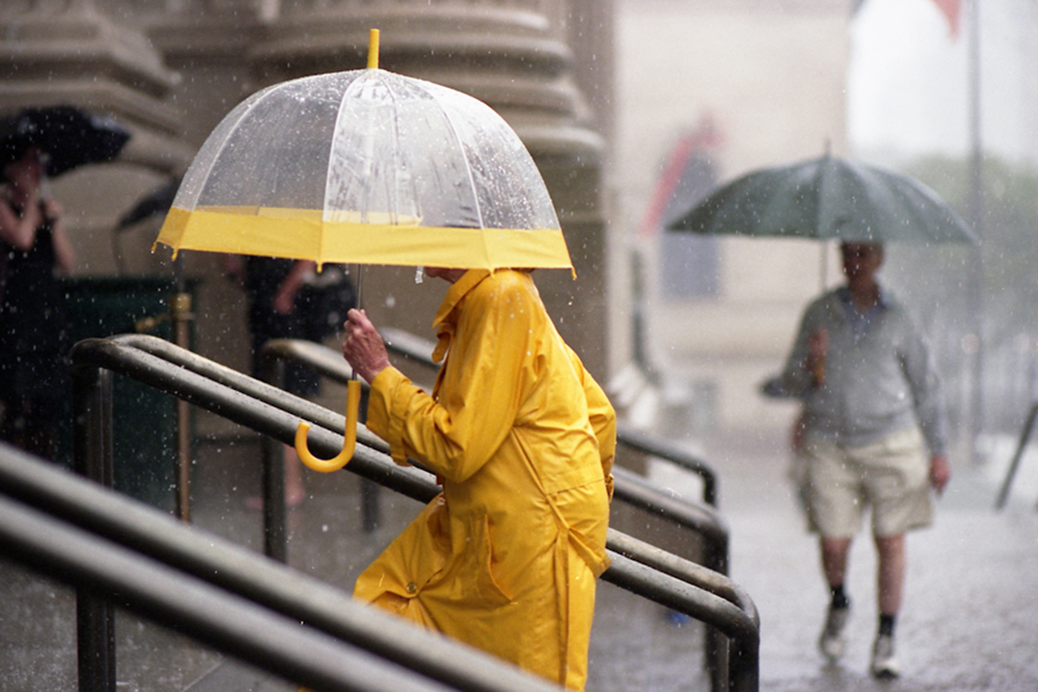 How not to be a dick with an umbrella in NYC