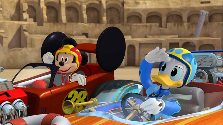 Mickey: Aventuras sobre ruedas