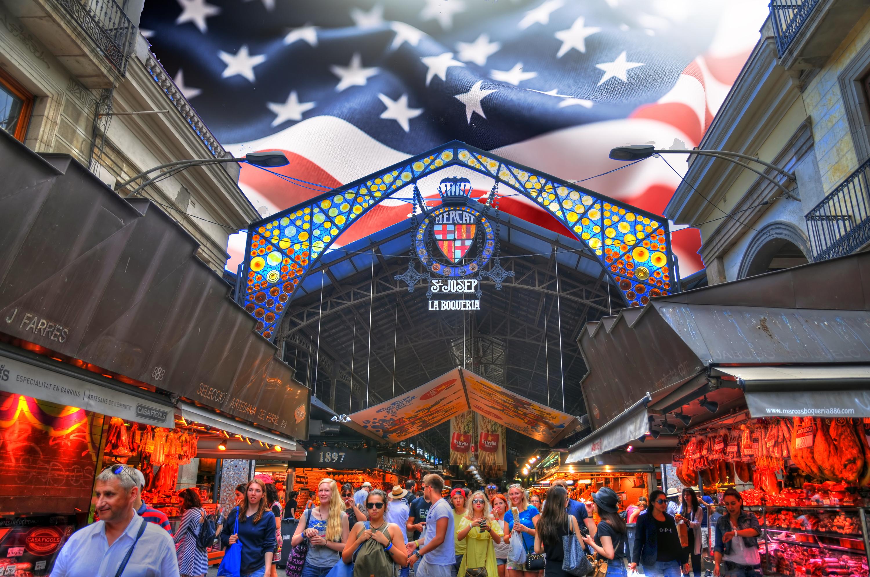 El mercat de la Boqueria posa rumb a Nova York