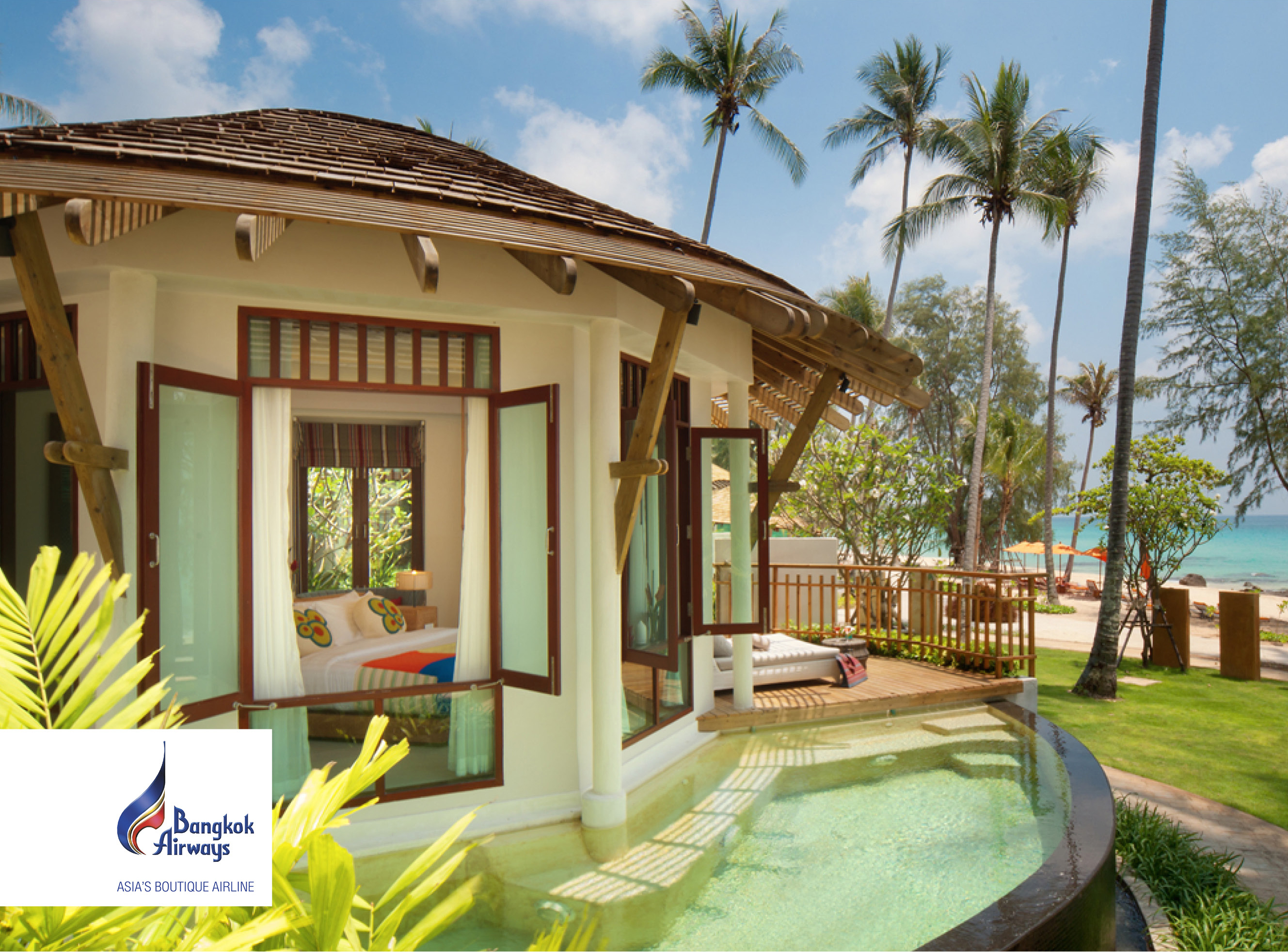 Bangkok Airways – Cham's House Koh Kood