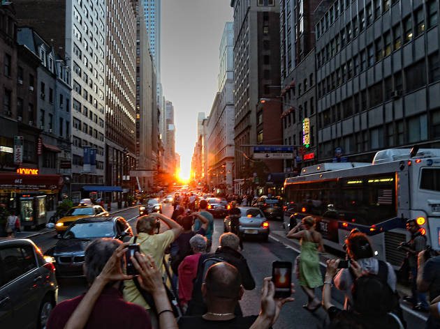 Check out the dates for Manhattanhenge 2017