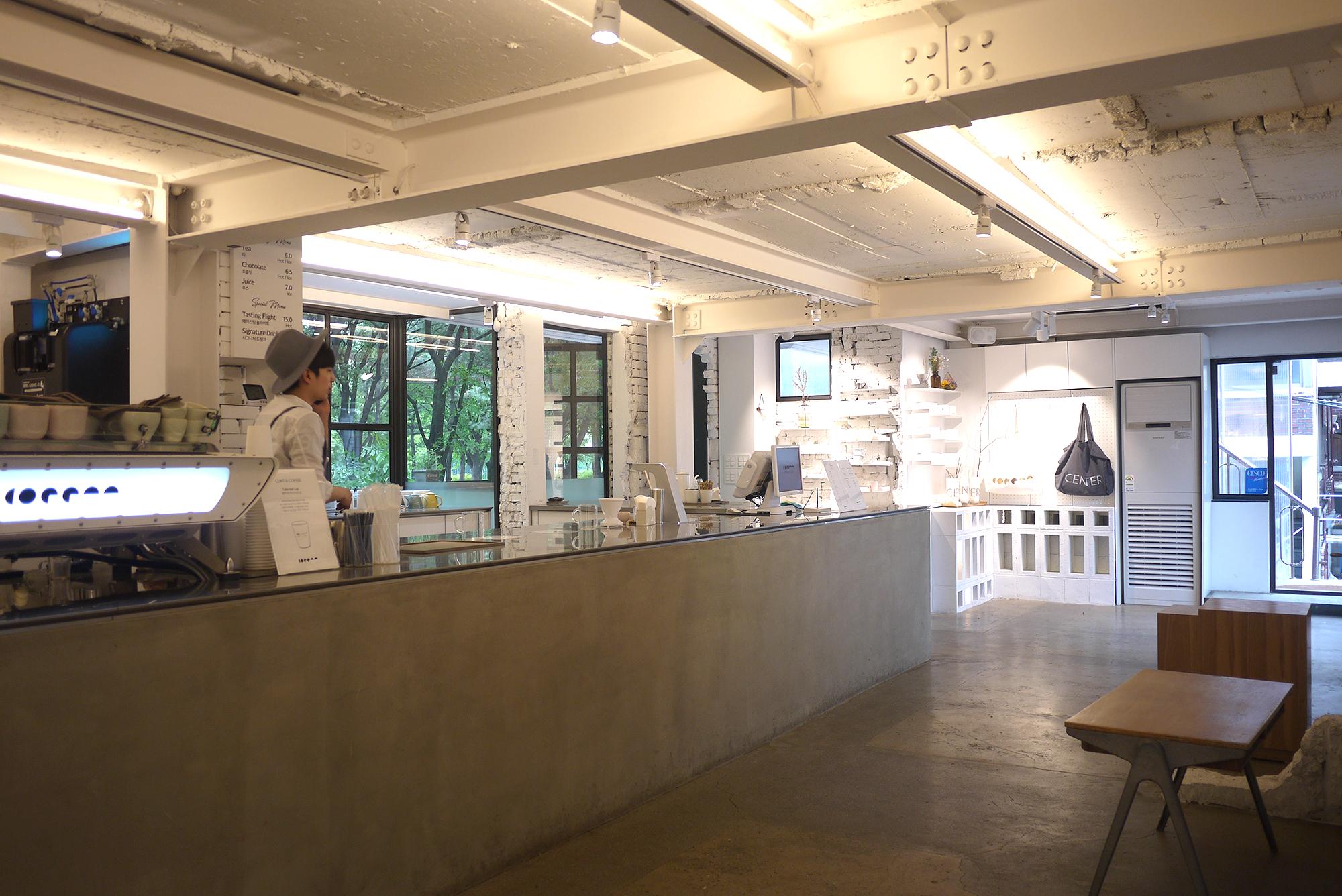 배용준이 투자한 카페, 센터커피